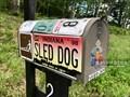 Image for Dog Sledding mailbox - Accident, Maryland  USA