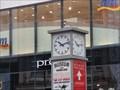 Image for Town clock Nikolastraße - Leipzig, Saxony, Germany