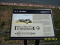 Image for H. L. Hunley marker at Fort Sumter - Charleston, SC