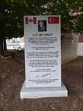 Image for Fallen Soldiers in Gallipoli Monument - Halifax, Nova Scotia, Canada