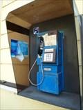 Image for Payphone / Telefoní automat ,ulice Nádražní, Vrané nad Vltavou, okres Praha-západ, Czech republic
