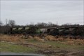 "Image for ""Crews work to clear line after derailment at Ballinger"" -- US 67 2 miles E of Valera TX"