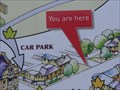 """Image for """"You Are Here"""" At Car Park Entrance - Cleckheaton, UK"""