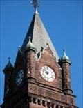 Image for Mary Lyon Hall Clock.  South Hadley, MA