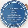 Image for Arthur Stanley Wint Blue Plaque - Philbeach Gardens, London, UK