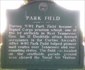Image for Marker - Park Field