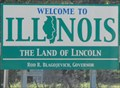 Image for Welcome to Illinois - WI-80 - Hazel Green, WI