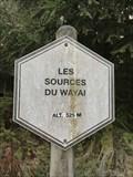 Image for Les sources du Wayai. Malchamp, Belgique 525m
