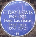 Image for Cecil Day-Lewis - Crooms Hill, Greenwich, London, UK