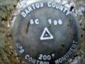 Image for Bartow County GPS Control Disk-BC 196