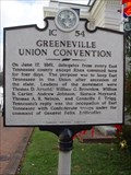 Image for Greeneville Union Convention - 1C 54