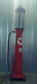 Image for Texaco Gas Pump - Coalinga, CA