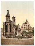 Image for 1905 - Schillerplatz - Stuttgart, Germany, BW