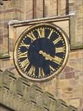 Image for St Mary's Church Clock - Nottingham, Nottinghamshire, England, UK.