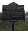 Image for The Philadelphia Campaign Battle of Cooch's Bridge (NC-182) - Newark, DE