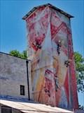 Image for Metal Men Climb Feed Mill Silo - Johnson City, TX