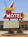 Image for Historic Route 66 - La Mesa Motel - Santa Rosa, New Mexico, USA.