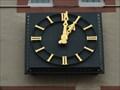 Image for Clock at the Hahnenhaus , Dietrichstraße 52, Trier  - Rheinland-Pfalz / Germany