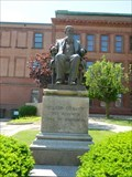 Image for Statue of Nelson Dewey - Courthouse Square Historic District - Lancaster, Wisconsin