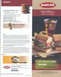 Image for Jason's deli takeout menu - Edmond, OK