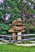 Image for Inukshuk at McMichael Art Collection - Kleinburg, Ontario