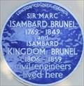 Image for Marc Isambard Brunel and Isambard Kingdom Brunel - Cheyne Walk, Lonon, UK