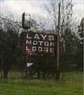 Image for Lays Motor Lodge Neon Sign - Kingdom City, MO