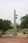 Image for Veterans Monument - Obelisk and Plaza - Prince Solms Park, New Braunfels, Texas