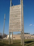 Image for Climbing wall at East High High Ropes - Rochester, NY