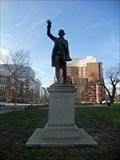 Image for Edmund Burke Statue - Washington, DC