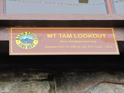 Mt Tamalpais Lookout, Marin County, CA