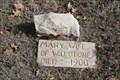Image for Mary Stone - Ramsey Cemetery - Stephenville, TX