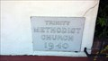 Image for 1940 - Trinity Methodist Church - Chico, CA