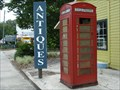 Image for The Antique Market Phone Box - St. Augustine, FL