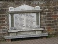 Image for Eaton Bray - Wesleyan Chapel War Memorial - Bed's