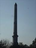 Image for George Hicks Fancher Obelisk - Merced, CA