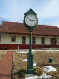 Image for Railroad Depot Clock - Clinton, Mo.