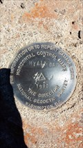 Image for NZ1335 - NGS 'HYATT DAM' Horizontal Control Mark - Jackson County, OR