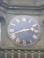 Image for Queen's Park Clock  - Dresden, Nr Longton, Stoke-on-Trent, Staffordshire, England, UK.