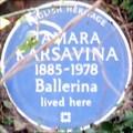 Image for Tamara Karsavina - Frognal, Hampstead, London, UK