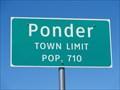 Image for Ponder, TX - Population 710
