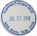 Image for Hopewell Furnace 80th Anniversary Stamp - Elverson, PA