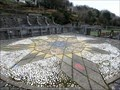 """Image for Laxey """"Washing-Floors"""" Compass Rose - Laxey, Isle of Man"""