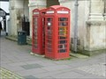 Image for Red Telephone Boxes, High Street, Monmouth, Gwent, Wales