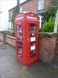 Image for Red Telephone Box, Holy Cross, Worcestershire, England