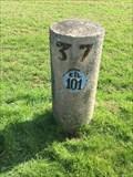 Image for Borne kilométrique n°101, Bord de l'Yonne - France