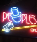 Image for Peoples Biliards - Artistic Neon - Memphis, Tennessee, USA.