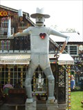 "Image for Tin Man with a Lighted Red Heart - ""Heavy Metal"" -  Goshen, MA"