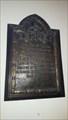 Image for Lieutenant C L Usher plaque - St George - Fovant, Wiltshire