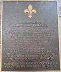 Image for Plaque de la maison Saint-Gabriel - Montréal, Québec